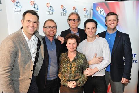Stephen Beresford, Cameron McCracken Imelda Staunton, Bill Nighy, Andrew Scott, Ben Roberts